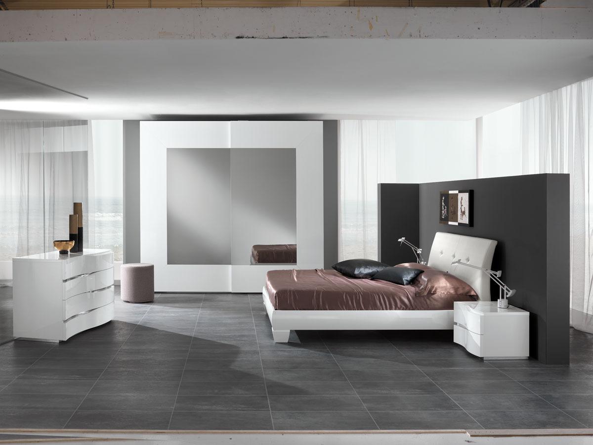 Dormitoare moderne castello mobila italiana cu stil - Camere da letto moderne bianche ...