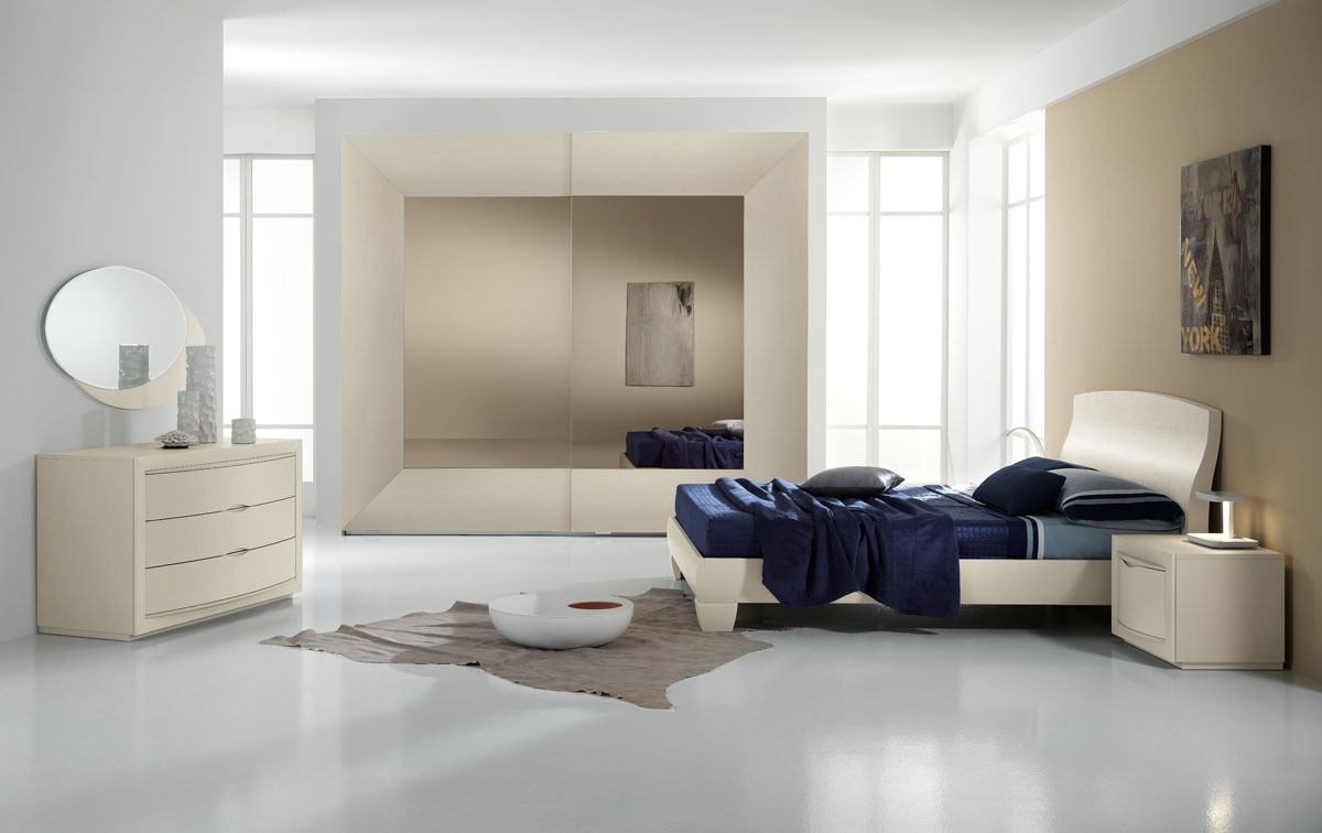 Dormitoare moderne castello mobila italiana cu stil - Stanza da letto spar ...