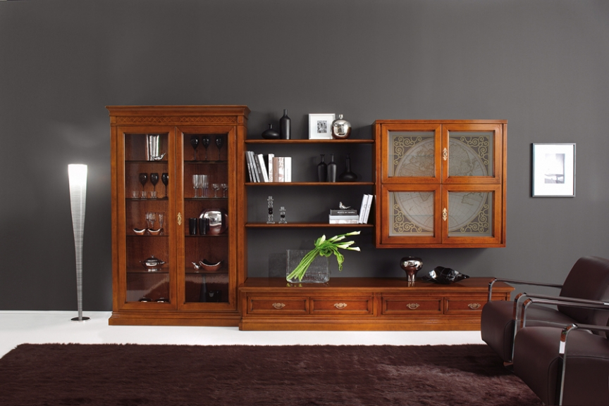 Livinguri clasice castello mobila italiana cu stil for Mobila accessori tecnici per mobili